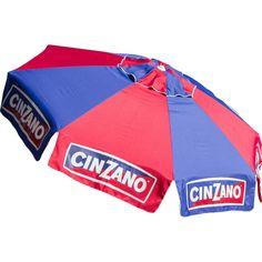 DestinationGear - Cinzano Deluxe Beach and Patio Umbrella - Multicolor