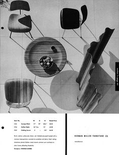 furniture Advertising Herman Miller – Charles Eames (Herman Miller) Furniture Forum A Handbook of Contemporary Design – Furniture Decoration Modular Furniture, Furniture Logo, Ikea Furniture, Vintage Furniture, Furniture Ideas, Furniture Design, Chair Design, Indian Furniture, Furniture Catalog