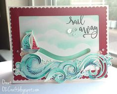 O2Craft: ColourQ #349: Sail Away...my first slider card!