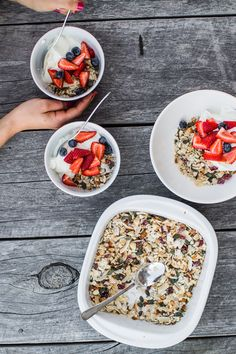 Easy No Bake Paleo Muesli - Use it as a sweet snack or breakfast treat. So versatile and so easy. Uh-mazing.