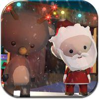 Aide le Père-Noël à préparer Noël et rencontre tout ses amis tels que René le Renne ou le Petit Bonhomme de Pain d'épices! tablette espace tout-petits.
