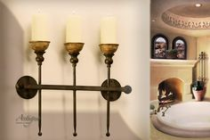 Decorative Accessories: Spanish Colonial Revival style light fixtures  [chapter14]