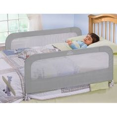 The Double Bedrail Is An Essential Item For Transitioning Your Child From A Crib To Bed Unique Design Allows Quick Easy And Secure Installation