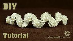 Angel Wings & Macrame Shell Bracelet Tutorial « Jewelry