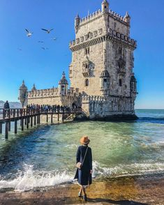 Torre de Belem, Portugal guide trip list around the world List journey journey tips itinerary ideas La Provence France, Places To Travel, Places To Visit, Magic Places, Portugal Travel Guide, Spain And Portugal, Belem Portugal, Voyage Europe, Algarve