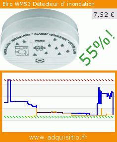 Elro WM53 Détecteur d' inondation (Outils et accessoires). Réduction de 55%! Prix actuel 7,52 €, l'ancien prix était de 16,59 €. https://www.adquisitio.fr/elro/wm53-d%C3%A9tecteur-inondation