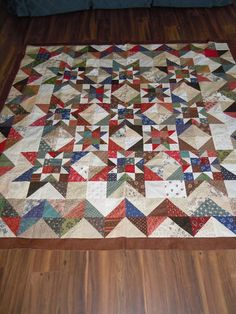 It's been a crazy couple of weeks here at The Painted Quilt and even amidst all the upheaval, I did manage... Blue Quilts, Small Quilts, Mini Quilts, Scrappy Quilts, Easy Quilts, Flag Quilt, Patriotic Quilts, Star Quilt Blocks, Civil War Quilts