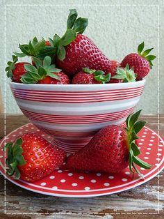 Kouzlo mého domova: Červená vůně jahod ...