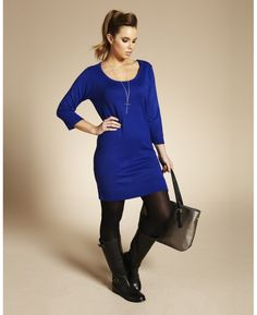 Knitted Sweater Dress at Simply Be
