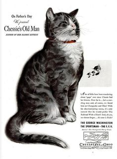 Chesapeake and Ohio Railroad ad (1940s)