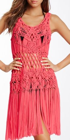 ИДЕЯ         Nanette Lepore Macrame Dress