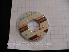 The Inky Scrapper: Washer Pendant Tutorial