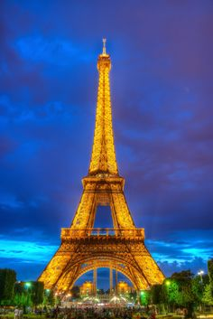 I think it would be really cool to go to the Eiffel Tower. I would love to visit France.