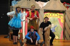 The Cast of BTGPLAYS! touring production of #Pinocchio