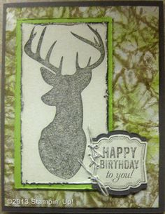 Stampin' Up! Cards - Birthday, Remembering Christmas and Label Love stamp sets, Artisan Label Punch