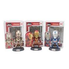 Iron Man Trio Edition - WoodenNation Marvel Avengers, Funko Pop, Iron Man, Kids Toys, Action Figures, Hobbies, Dolls, Cute, Anime