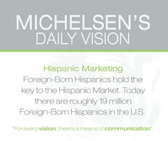#hispanicmarketing #hispanic #marketing #advertising #pr #corporate #business #success #growth #tiger #vision #focus #creative #graphicdesign #media #green #michelsen #michelsenadvertising