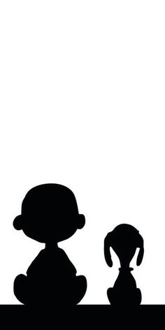 Snoopy and Charlie Brown silhouette for crayon melting Silhouette Cameo, Portrait Silhouette, Free Silhouette Files, Black Silhouette, Charlie Brown Et Snoopy, Snoopy Love, Snoopy And Woodstock, Peanuts Cartoon, Peanuts Snoopy