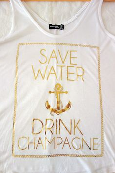 Drink Champagne Tank Top