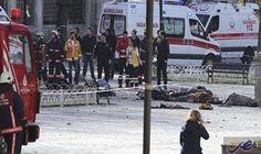 مقتل شرطي ومدني بالتفجير والهجوم في إزمير: مقتل شرطي ومدني بالتفجير والهجوم في إزمير