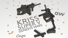 Kriss Vector By: Nikolas 'Cage' Griep