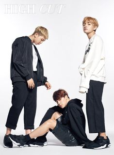 Rap Monster x V x Jimin BTS for High Cut
