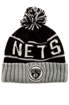 Mitchell  amp  Ness Men s Brooklyn Nets High 5 Beanie - Price   13.42 http  0f6a016b9ad4