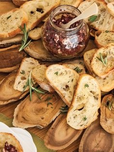 The entertaining experts at HGTV.com share a recipe for easy olive tapenade and toasty crostinis to serve at your next party.
