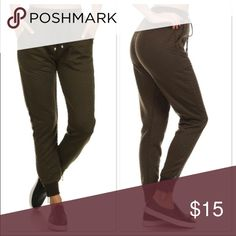 *Re-Posh* Olive Fashion Sweat Pants (Size L/XL) *Re-Posh* Olive Fashion Sweat Pants (Size L/XL) Quilted style jogger pants. Love the look of these, but sadly they are too small for me.  New, Never Worn. Pants