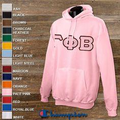 Gamma Phi Beta Sorority Champion Hooded Sweatshirt $43.95