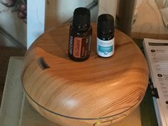Peppermint for insect repellant, doTerra's On Guard for cough relief.  LOVE the smell!