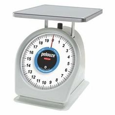 Mechanical Scale, Cap. 20 Lb by Rubbermaid. $141.53. Mechanical Scale, Capacity 20 Lb., Needle Display, Graduation Type 1 oz, NSF Standard, Stainless Steel Platform, Anodized Aluminum Chassis Material, Polished Finish, Overall Height 10 5/8 In., Overall Length 7 1/4 In., Overall Width 10 7/8 In., Includes Stainless Steel Platform