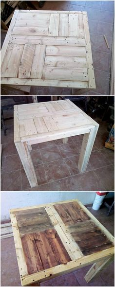 This is the end of the creativity of excellent wood pallet table step by step guideline for you. The table look so superb and should be a must accessory to locate it in your home furniture coverage right now!