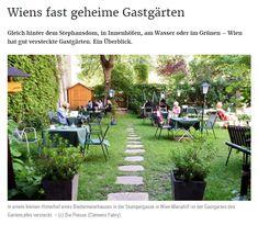 Gartencafé in der Stumpergasse Dolores Park, Vienna, Plants, Restaurants, Travel, Coffee Cafe, Small Backyards, Environment, Travel Destinations