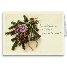 24 best italian christmas cards greetings images on pinterest vintage christmas card in italian m4hsunfo