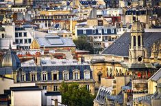 Paris Rooftops Photograph  - Paris Rooftops Fine Art Print; Photo by Elena Elisseeva. Pinned from fineartamerica.com