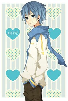 Kaito *w* - Vocaloid♫♪ Vocaloid Kaito, Kaito Shion, Kagamine Rin And Len, Cute Anime Boy, Hot Anime Guys, Anime Boys, Anime Manga, Anime Art, Kaai Yuki