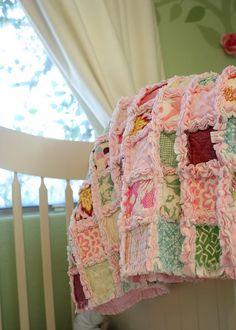 Baby's room quilt