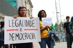 Protesto Brasileiro Contra o Golpe - Chile