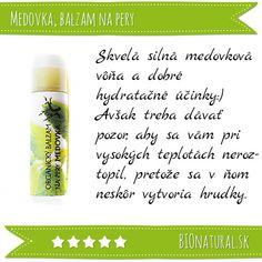 Hodnotenie medovkového balzamu na pery značky #Soaphoria http://www.bionatural.sk/medovka-bio-balzam-7g-p-2702.html?utm_campaign=hodnotenie&utm_medium=pin&utm_source=pinterest&utm_content=&utm_term=medovka_balzam_soaphoria