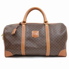 879886b595 Authentic Celine Boston Bag Browns Macadam PVC 345257  fashion  clothing   shoes  accessories  womensbagshandbags (ebay link)