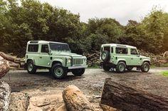 Land Rover lance trois éditions limitées exclusives du Defender - via Jaguar Land Rover Fréjus www.jaguarlandrover-cotedazur.com