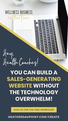 This workshop is for online wellness entrepreneurs who:   Don't know where to start because there are SO MANY things to figure out...  Who feel like they are doing ALL THE THINGS and not getting results...  And who want to grow their client base and create more consistent income each month! Coach Website, Diy Workshop, Create Your Own Website, Small Business Marketing, Health Coach, Health And Wellness, Improve Yourself, Coaching, Base
