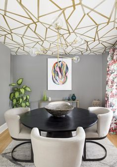 Wallpaper Ceiling Ideas