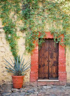 Mexico :: Jose Villa..love the door