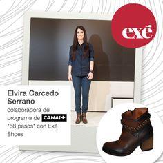 Elvira Carcedo luciendo botas Era de #Exe