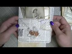 TUTORIAL - DOUBLE POCKETS - Journal Book Page Ideas & Tutorial - YouTube