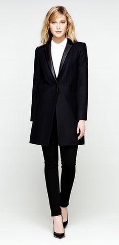 Black Long Jacket - Judith & Charles Clothing
