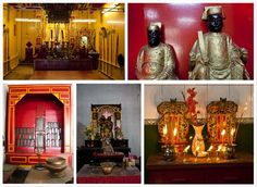 List of Chinese Temples in Old Chinatown Kolkata  http://www.bongblogger.com/list-of-chinese-temples-churches-in-calcutta-kolkata-tirettabazar/