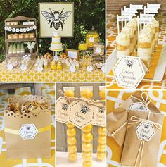 The Buzz on Creating the Ultimate Bee-Day Party via Brit + Co